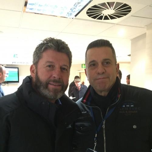 Andy Townsend ile  West Ham maçında, Aralık 2015