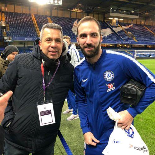 Gonzalo Higuain - Chelsea formasıyla ilk maçında...