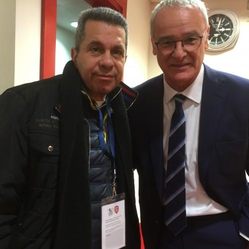 Claudio Ranieri - Arsenal - Leicester City maçından sonra - Şubat 2016