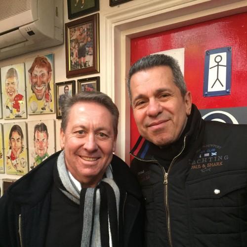 Arsenal efsanesi Kenny Sansom ile Şubat 2016