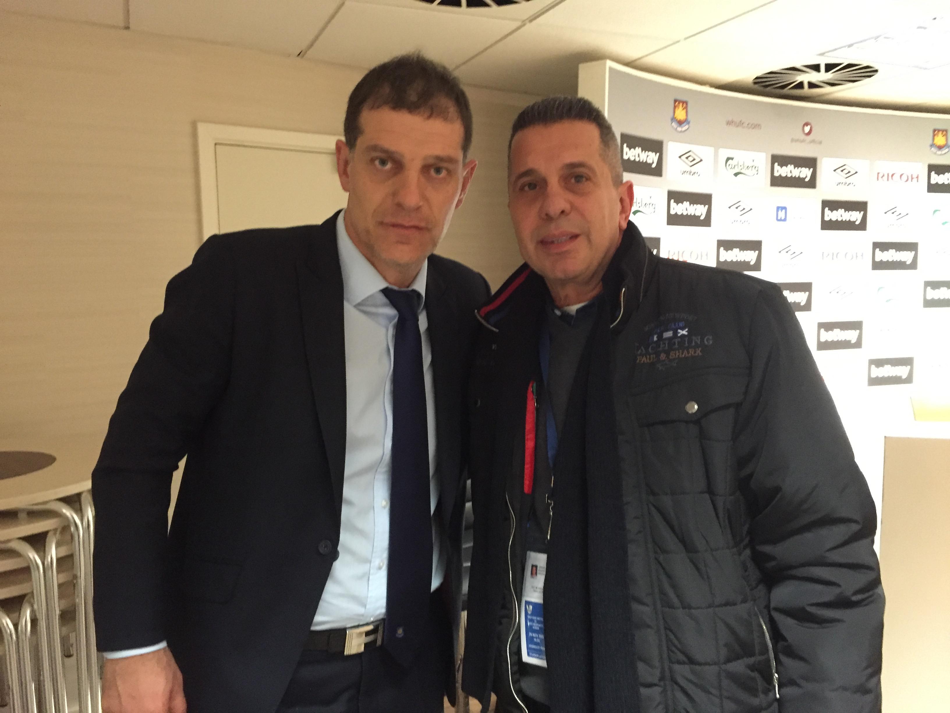 Slaven Bilic ile West Ham – West Brom maçından sonra… Aralık 2015