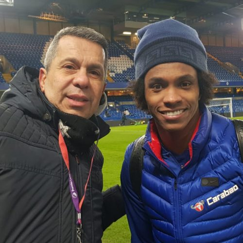 Ocak 2019 - Willian ile Chelsea - Sheffield Wednesday maçından sonra...